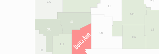 Dona Ana County Map