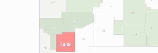 Luna County Map